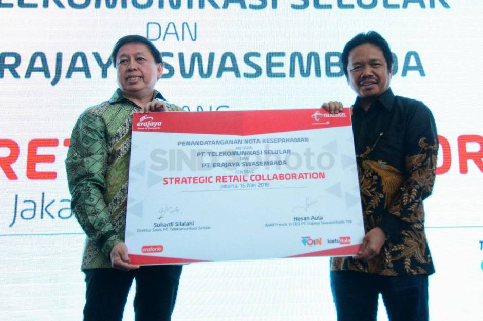 Telkomsel Gandeng Erajaya Hadirkan Program Halo Device Plan-1