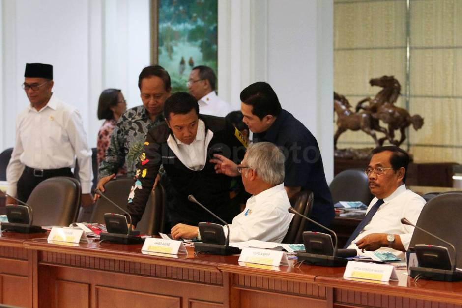 Presiden Jokowi Pimpin Ratas Persiapan Asian Games 2018-0