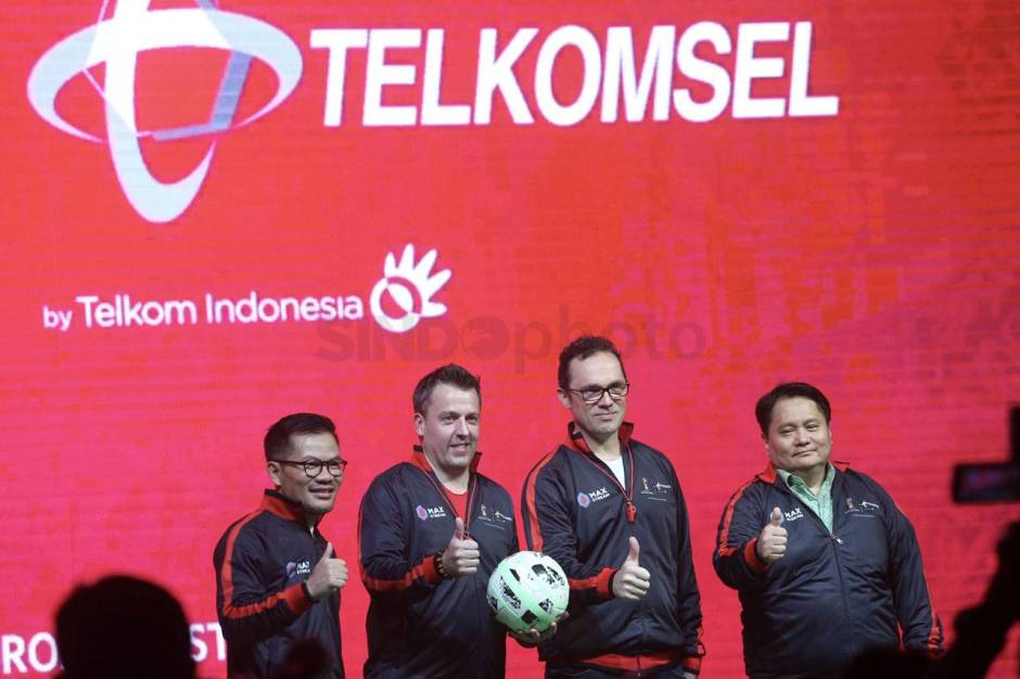 Peluncuran Telkomsel Licensed Mobile Broadcaster World Cup 2018-0