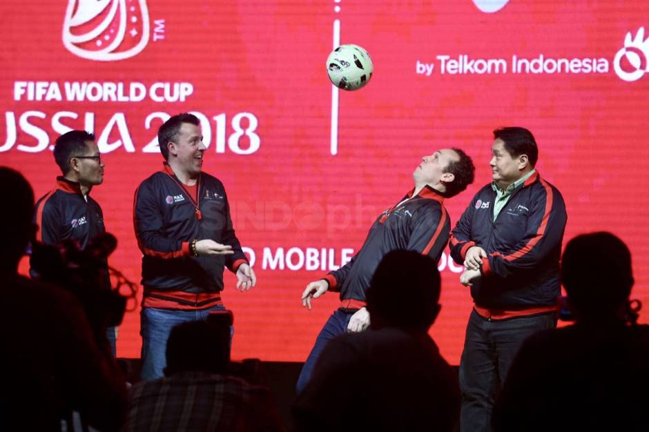 Peluncuran Telkomsel Licensed Mobile Broadcaster World Cup 2018-2
