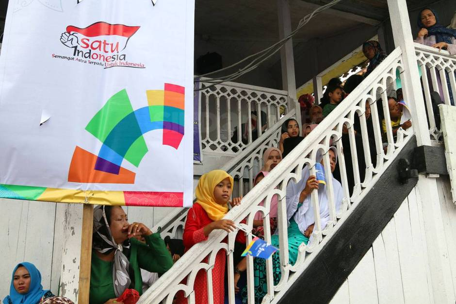 Astra International Arak Obor Asian Games 2018 di Kampung Wisata Al Munawar-6