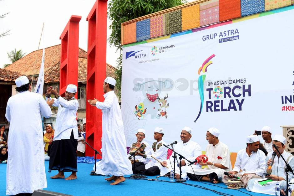 Astra International Arak Obor Asian Games 2018 di Kampung Wisata Al Munawar-8