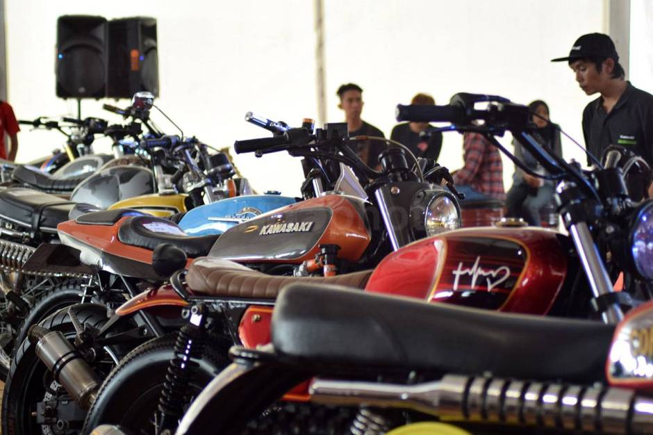 Ratusan Motor Modifikasi Ramaikan Suryanation Motorland Battle-1