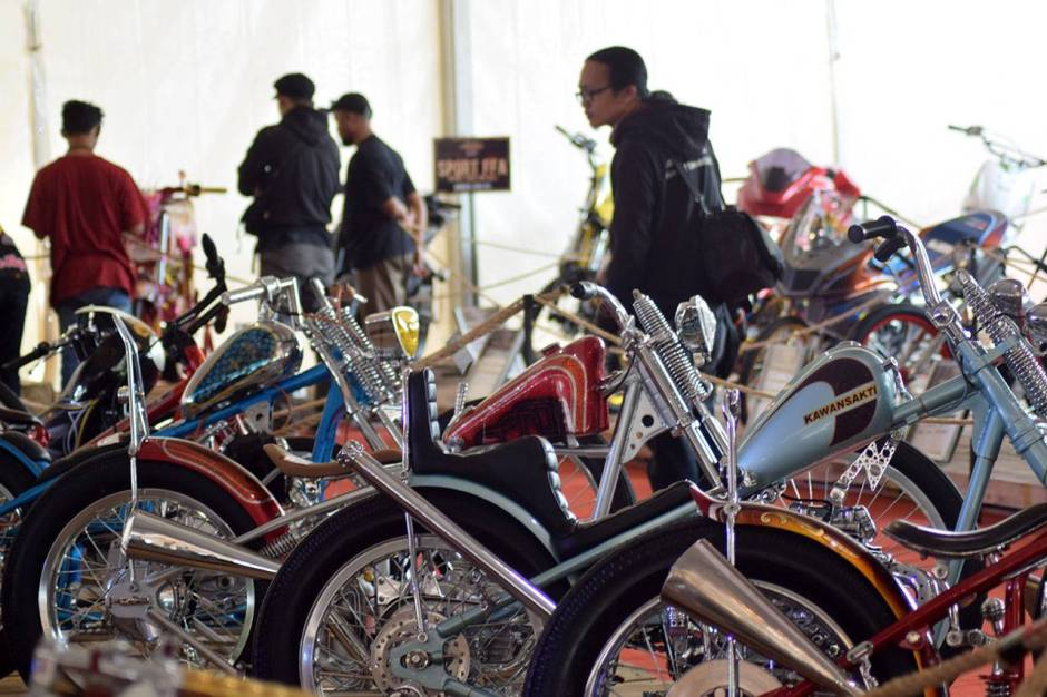 Ratusan Motor Modifikasi Ramaikan Suryanation Motorland Battle-2
