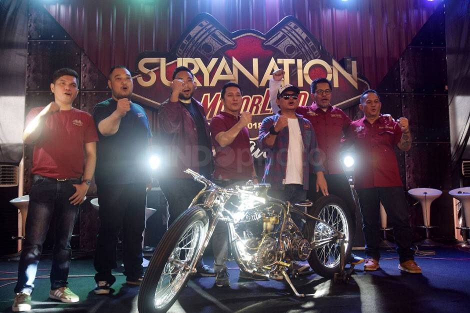 Ratusan Motor Modifikasi Ramaikan Suryanation Motorland Battle-5