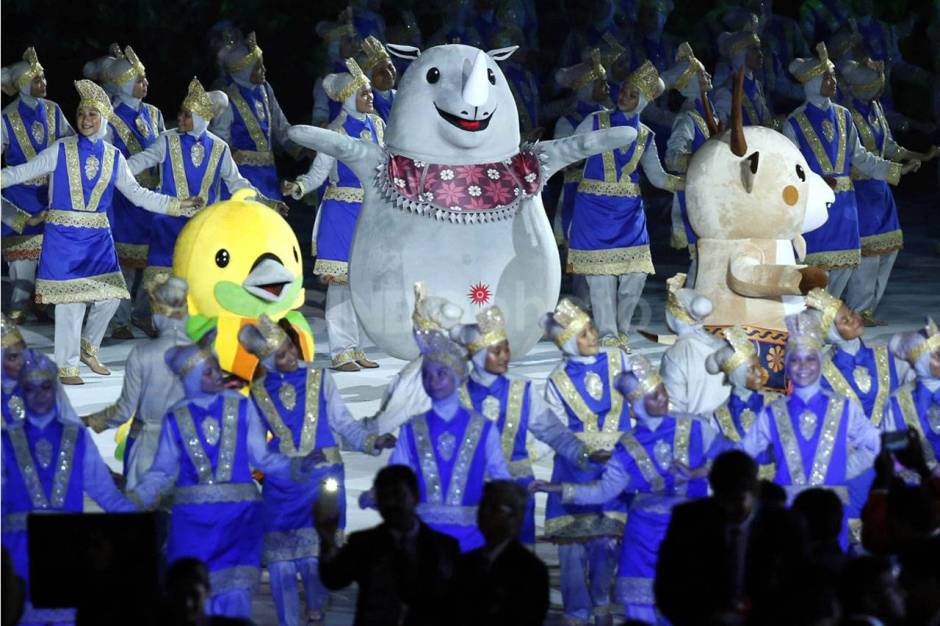 Image result for asian games opening
