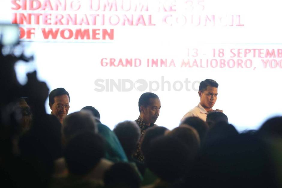 Presiden Jokowi Buka Sidang Umum ke-35 International Council of Women-0