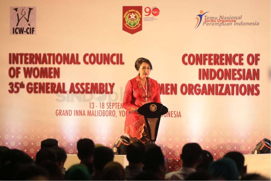 Presiden Jokowi Buka Sidang Umum ke-35 International Council of Women-2