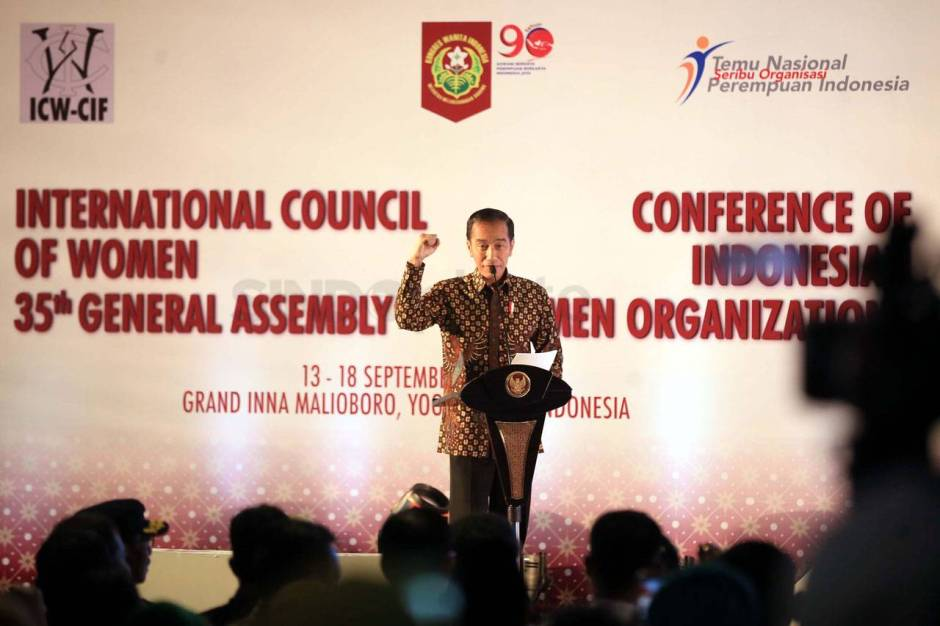 Presiden Jokowi Buka Sidang Umum ke-35 International Council of Women-3