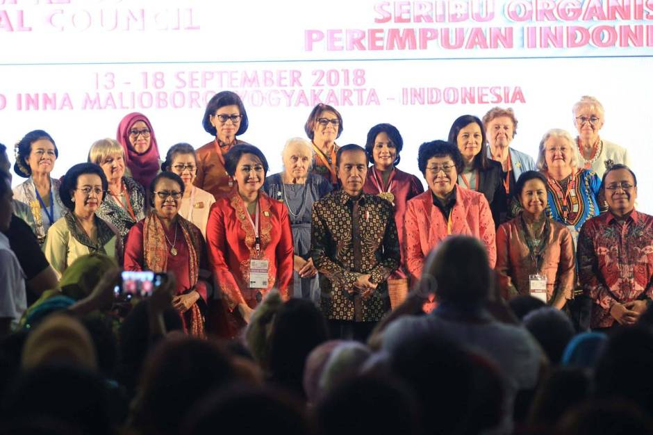 Presiden Jokowi Buka Sidang Umum ke-35 International Council of Women-4
