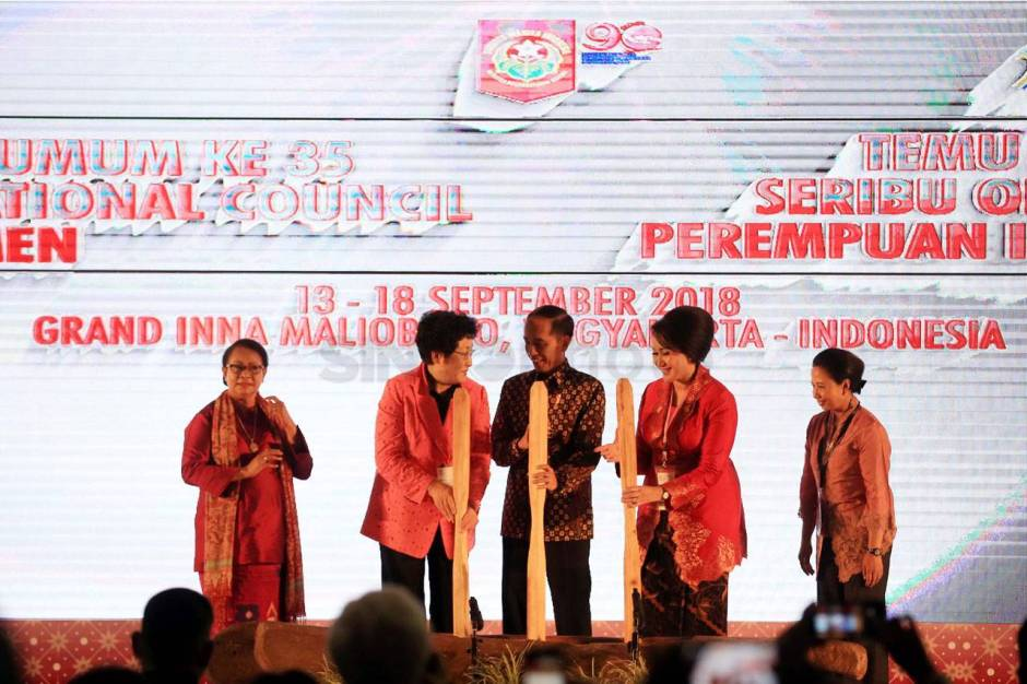 Presiden Jokowi Buka Sidang Umum ke-35 International Council of Women-5
