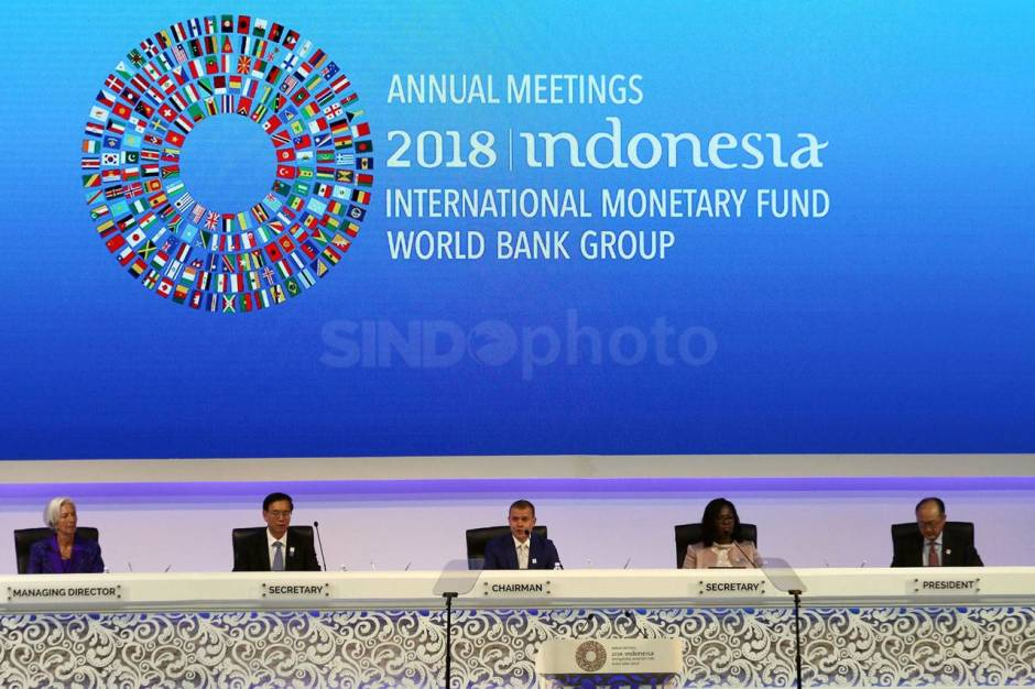 Presiden Jokowi Hadiri Pertemuan Tahunan IMF World Bank Group 2018-2