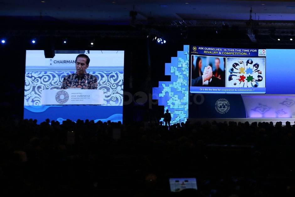 Presiden Jokowi Hadiri Pertemuan Tahunan IMF World Bank Group 2018-3