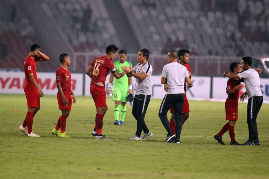 Indonesia Ditahan Imbang Filipina 0-0-3