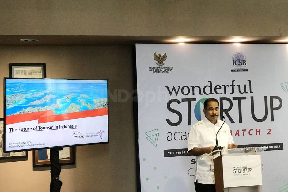 Menpar Hadiri Acara Wonderful Startup Academy Batch 2-2
