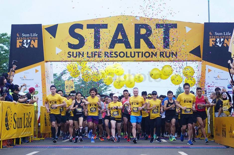 Sun Life Resolution Run 2019 Ajak Masyarakat Lawan Diabetes-1