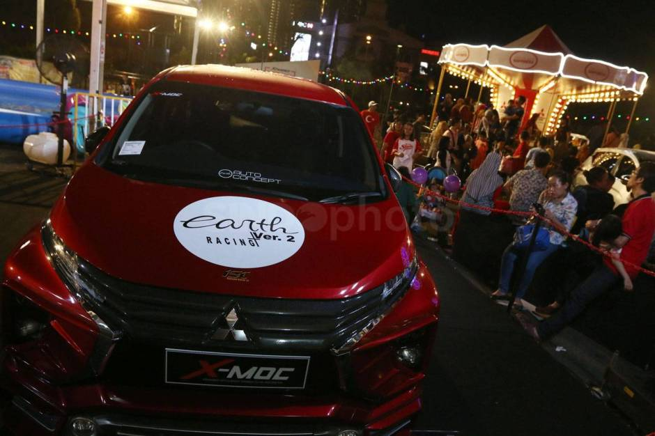 Roadshow Xpander Tons of Real Happiness Berakhir di Summarecon Mall-3