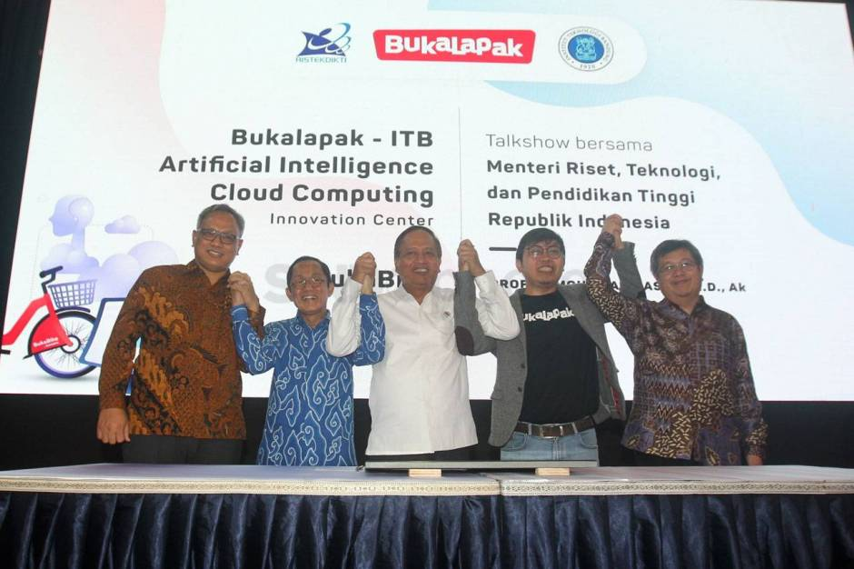 Bukalapak-ITB Luncurkan AI & Cloud Computing Innovation Center-1