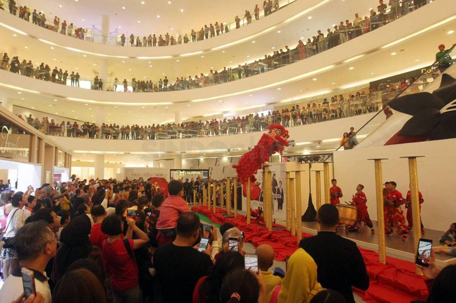Aksi The King of Lion Dance in The World di Senayan City-0