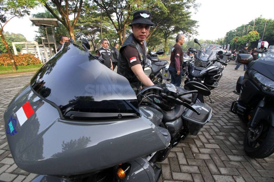 IMBI Banten Gelar Ride for Charity-1