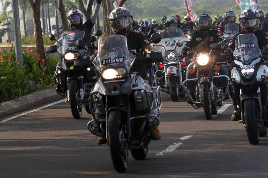 IMBI Banten Gelar Ride for Charity-2