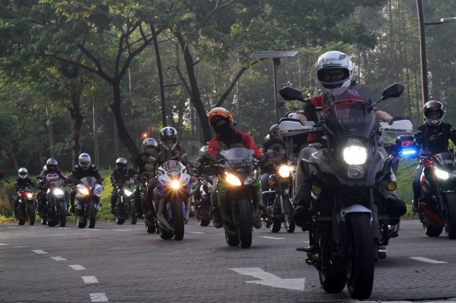 IMBI Banten Gelar Ride for Charity-4