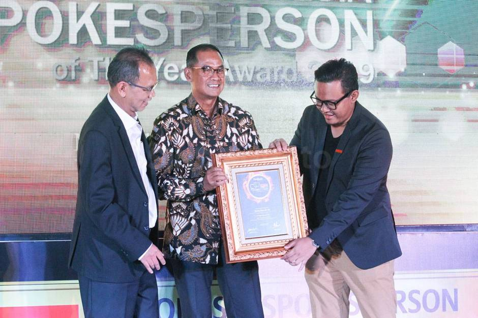 Lippo Group Raih Penghargaan Spokesperson of The Year Award 2019-3