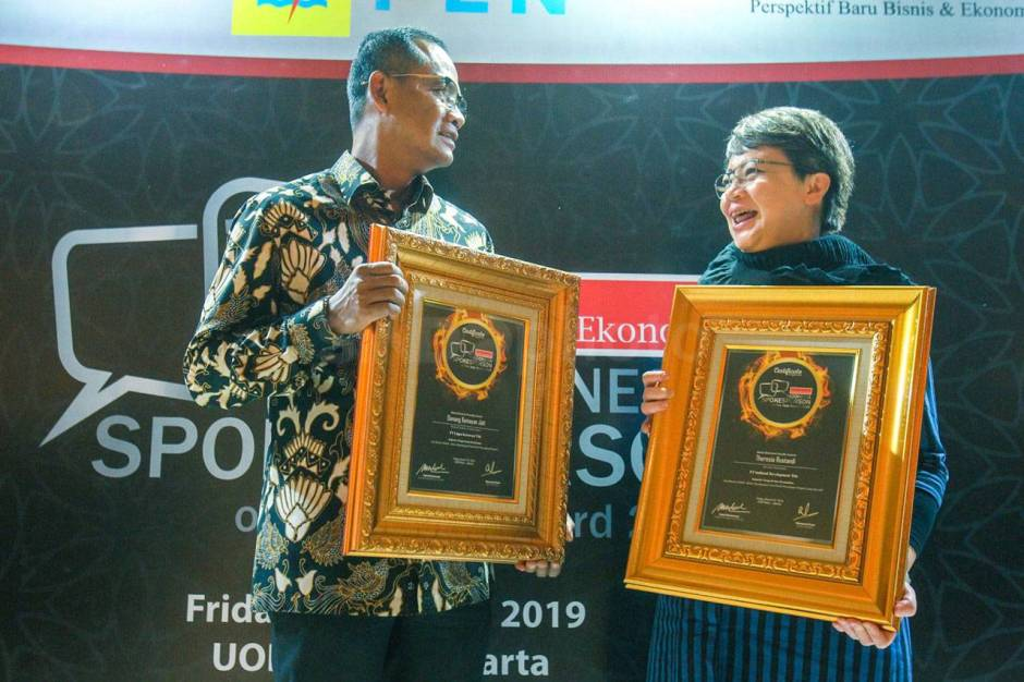 Intiland Raih Penghargaan Indonesia Spokeperson of The Year Award 2019-0