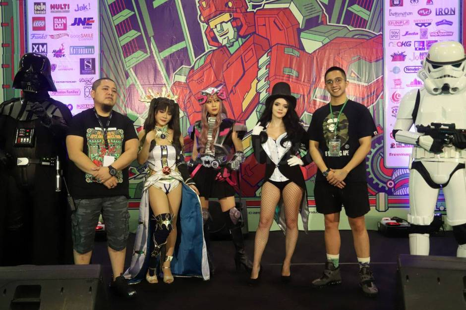 The Jakarta 15th Toys and Comics Fair 2019-5