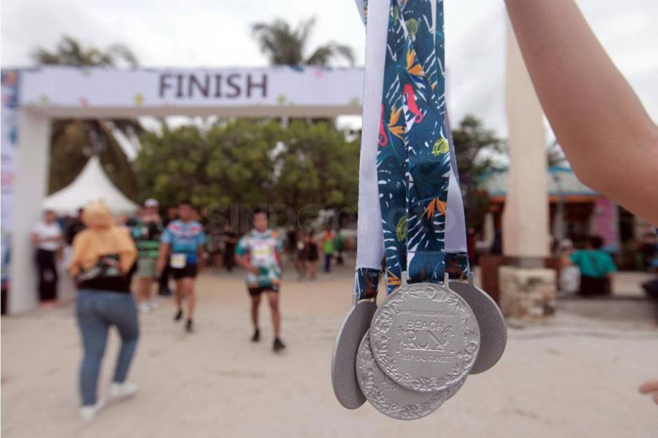 Serunya Beach Run Tropical Sunset di Pantai Lagoon Ancol-6