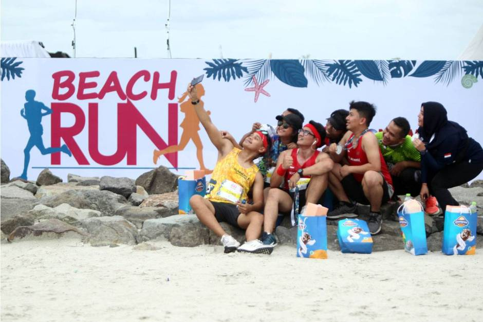 Serunya Beach Run Tropical Sunset di Pantai Lagoon Ancol-10
