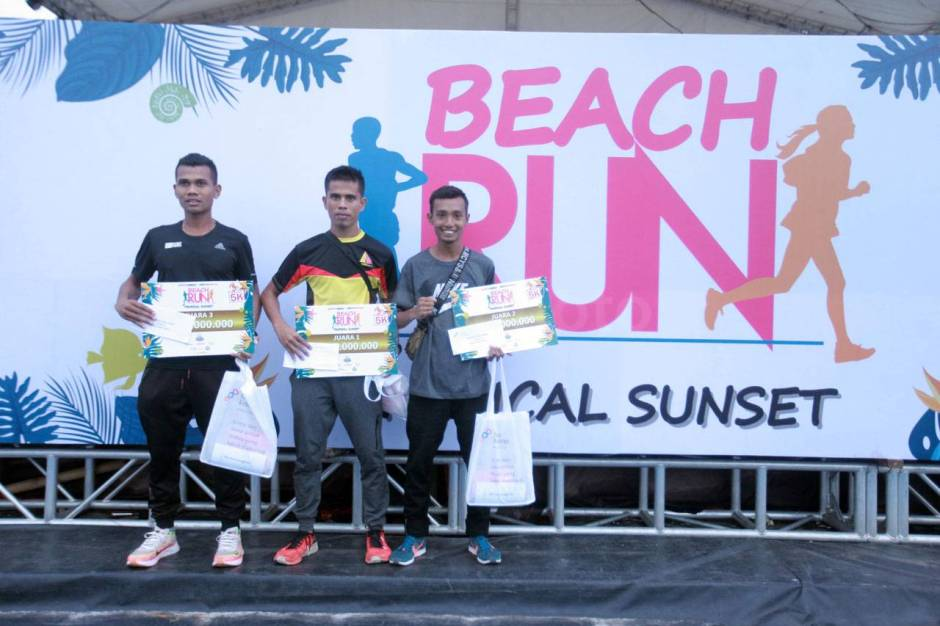 Serunya Beach Run Tropical Sunset di Pantai Lagoon Ancol-14