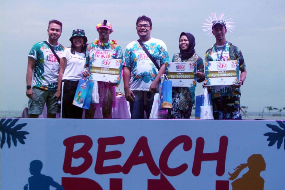 Serunya Beach Run Tropical Sunset di Pantai Lagoon Ancol-15