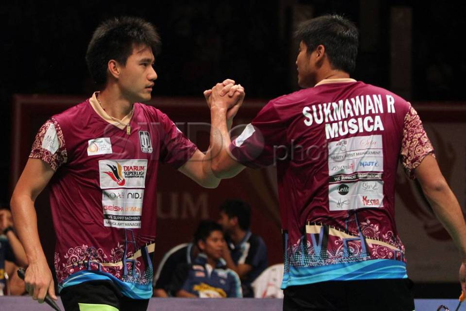 Juara Djarum Superliga Badminton 2013-2