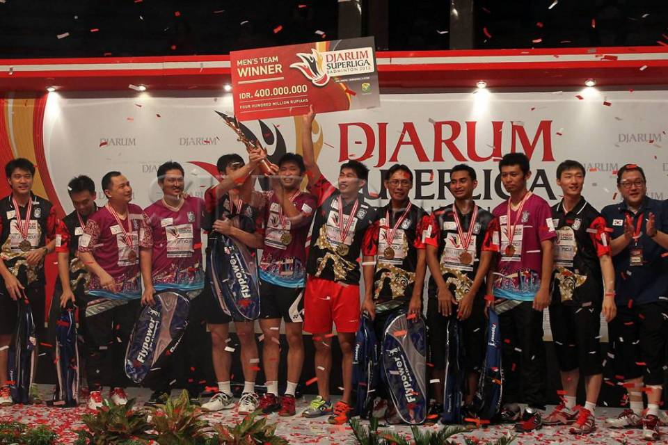 Juara Djarum Superliga Badminton 2013-0