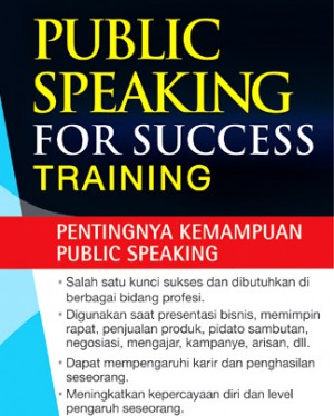 PUBLIC SPEAKING FOR SUCCESS TRAINING