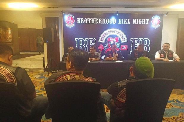 Gelar Brotherhood Bike Night, BBMC Indonesia Siap Jaga Kondusivitas Jabar