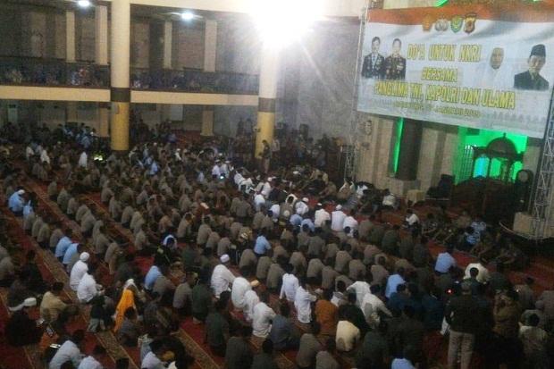 Ribuan Anggota TNI-Polri dan Warga Hadiri Doa untuk NKRI