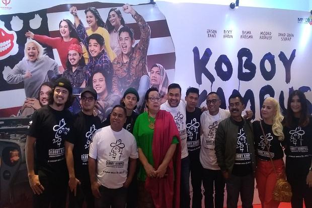 Gala Premier Film Koboy Kampus di Bandung Disambut Antusias