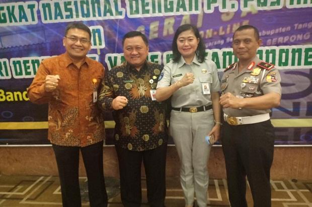 Dukung Samolnas, PT Pos Indonesia-Badan Pembina Samsat Jalin Kerja Sama