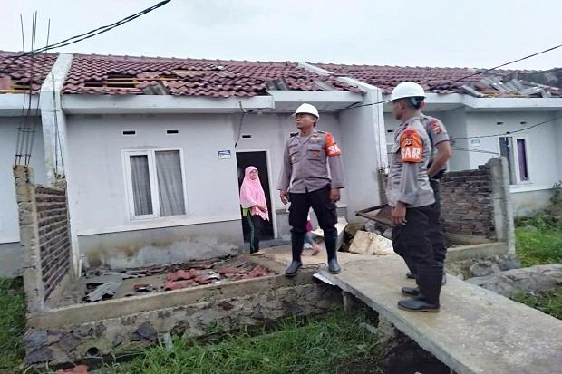 150 Rumah Warga di Rancaekek Rusak Akibat Puting Beliung