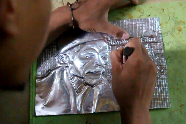 Keren, Seni Ukir 3D dari Limbah Alumunium Ini Layak Anda Koleksi
