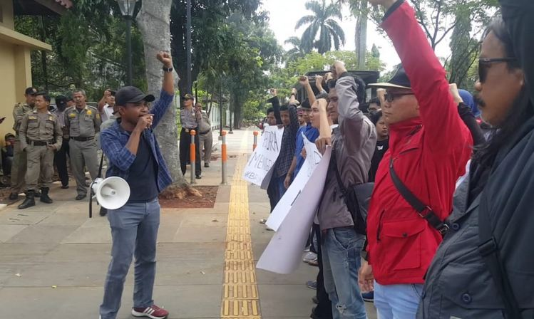 Elemen Warga Bogor Minta Kejati Usut Dugaan Korupsi di PUPR TA 2017