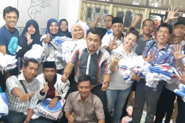 Partai Perindo Kabupaten Karawang manargetkan kemenangan 60 persen bagi Capres-Cawapres Joko Widodo (Jokowi)-Ma'ruf Amin.