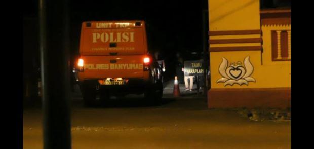 Pos Jaga Brimob Purwokerto Ditembaki, Satu Anggota Luka di Kepala
