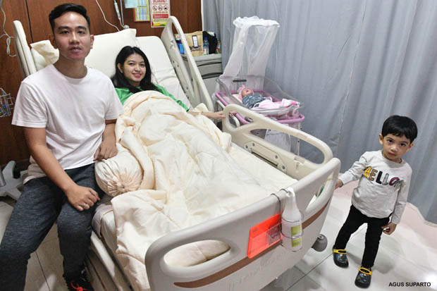 Nama Cucu Baru Presiden Jokowi, La Lembah Manah