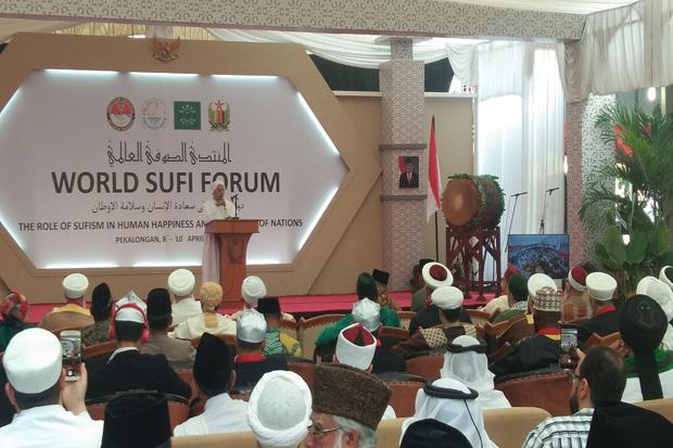 Menhan Buka Konferensi Ulama Sufi Internasional di Pekalongan