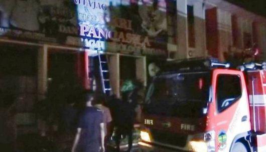 Sekolah Polisi Negara Purwokerto Kebakaran,1 Ruangan Hangus