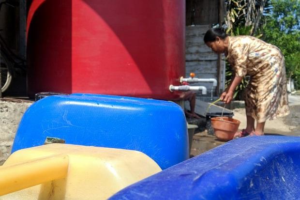 Ribuan Warga di Mojokerto Krisis Air Bersih, 50 Waduk Kering
