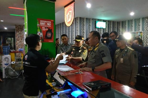 Narkoba Marak, Satpol PP Kota Mojokerto Sisir Tempat Karaoke